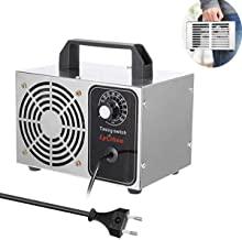 Irfora Generador de ozono Enchufe de la UE Purificador de Filtro de Purificador de Aire de ozono m/óvil Ozone Machine para el hogar 10 g//h 220V la Cocina la Oficina